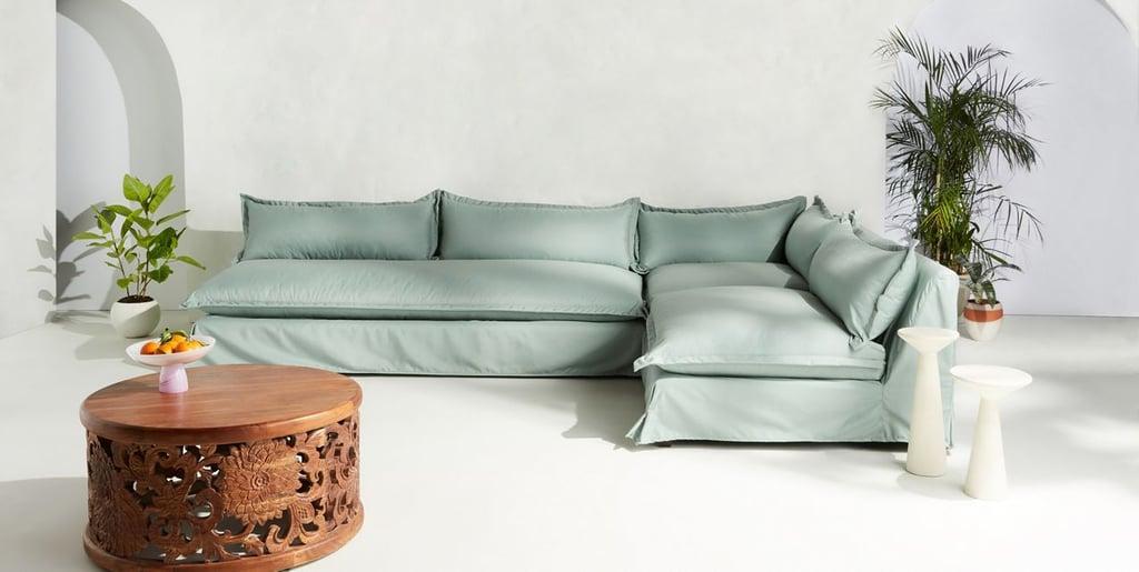 Tassa Indoor/Outdoor Three-Piece L-Shaped Sectional