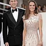 Red Carpet Kate and William