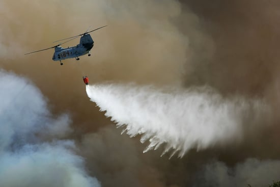 Hot Scam? Firefighting Helicopter Drops Are a Political Show
