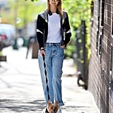 Pictures of Karlie Kloss Wearing Sneakers