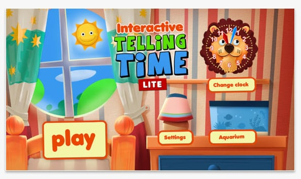 Interactive Telling Time Lite