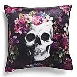 Velvet Renesmee Skull Pillow
