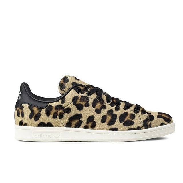 Adidas Stan Smith Pony Hair Leopard Sneakers ($150)