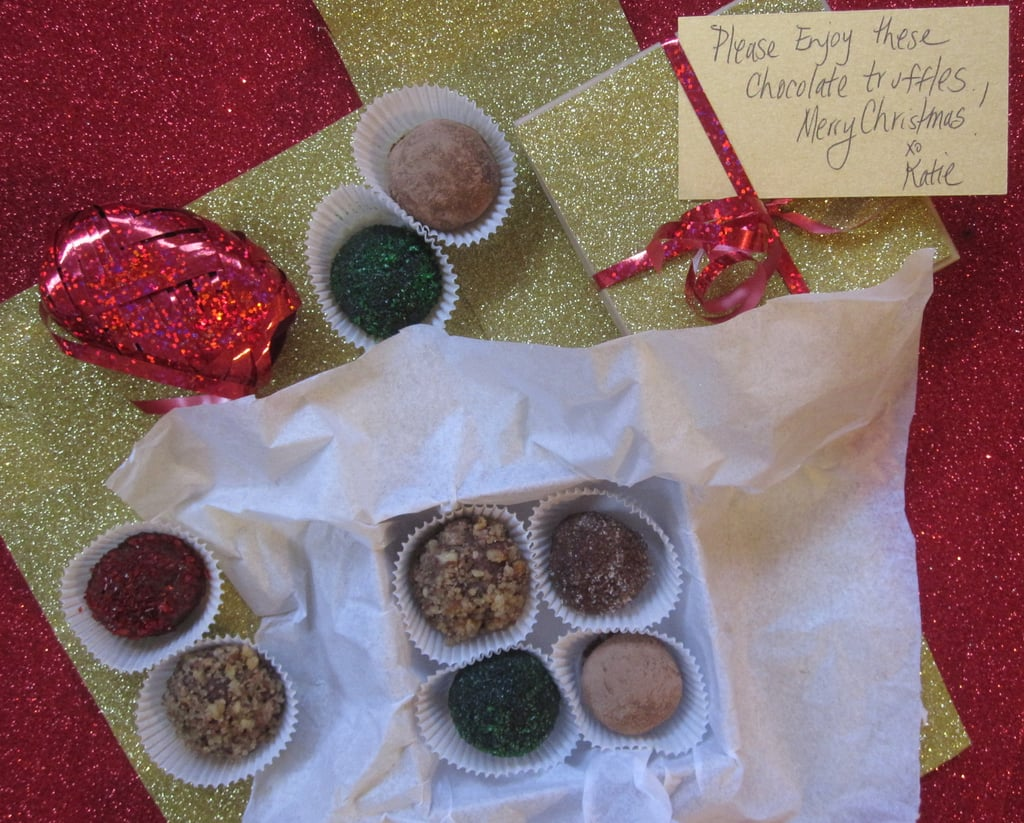 12 Days of Edible Gifts: Chocolate Truffles