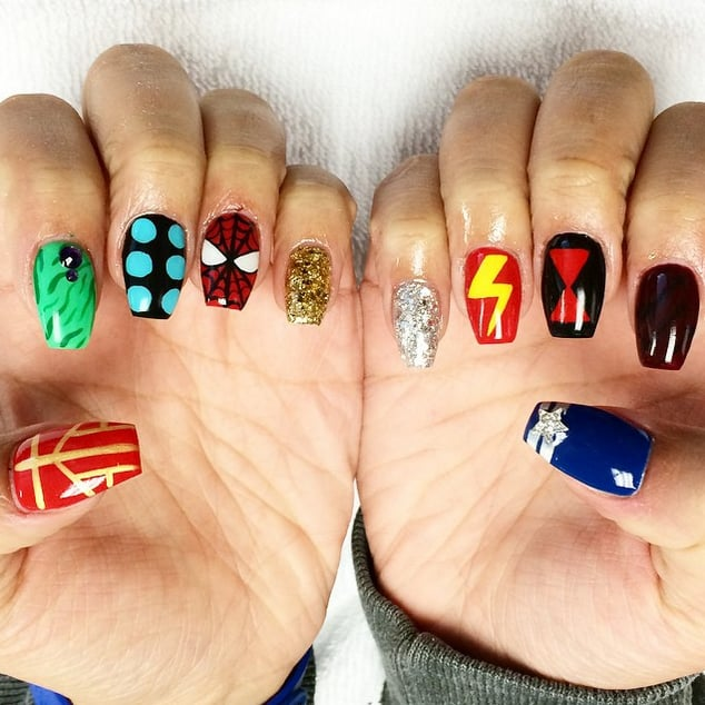 - Nerdy Nail Art Ideas POPSUGAR Tech