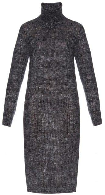 Raey Marl-Knit Mohair Blend Dress ($562)