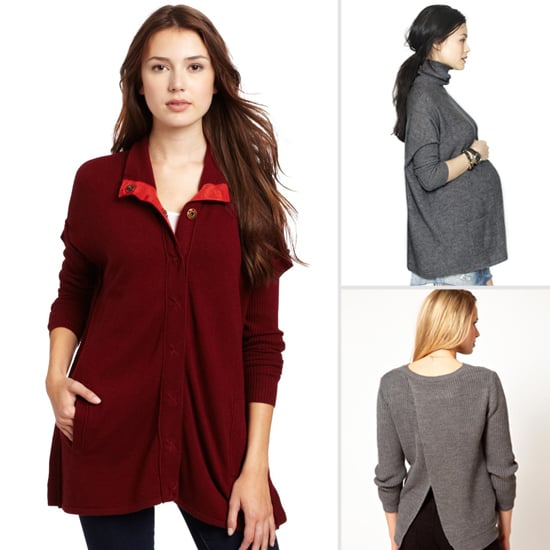 Stylish Maternity Sweaters For Winter 2013
