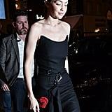 Gigi Hadid in Prada Ready to Wear Collection