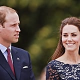 Kate checks Prince William out.