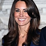 Kate Middleton's Glossy Layers, 2010