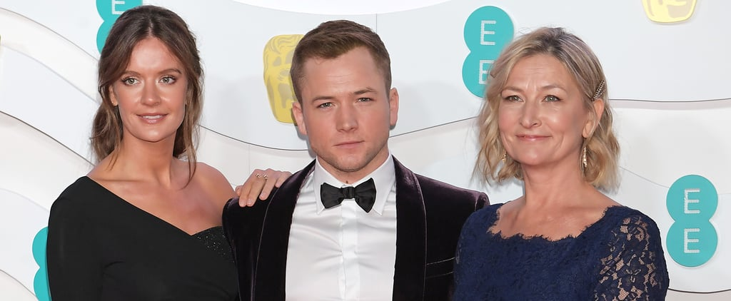 Taron Egerton Brought Mum, Girlfriend to 2020 BAFTAs