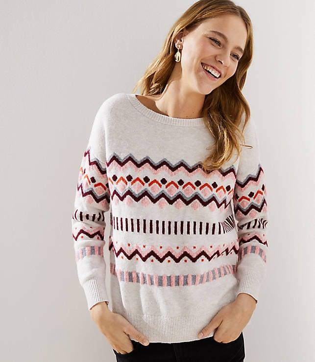 Geo Fairisle Sweater