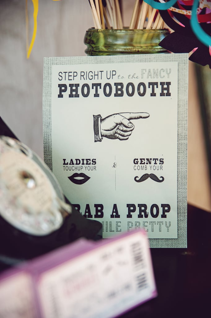 Vintage Photo Booth Details