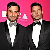 Ricky Martin and Jwan Yosef