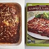 Pass: Organic Garden Vegetable Lasagna ($4)