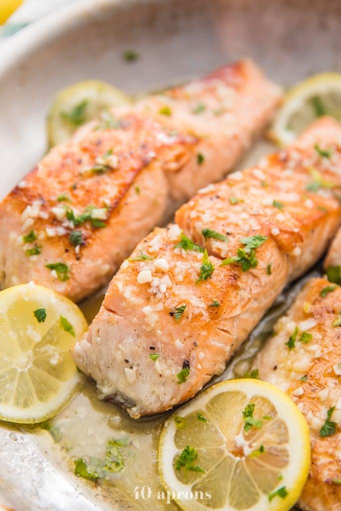 Lemon Garlic Salmon