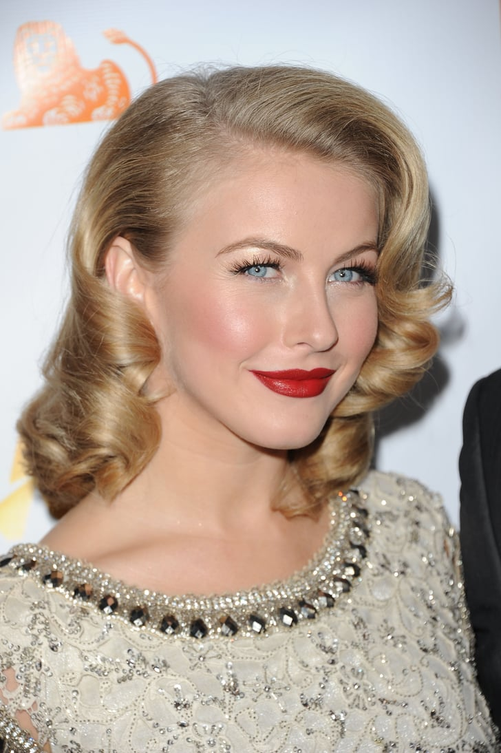 Julianne Hough Retro Waves And Vintage Hairstyles