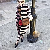 Show Off Your Quirky-Cool Style With a Striped Set