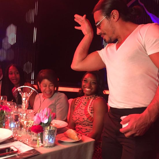 Salt Bae Meeting Celebrities