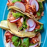 Spicy Chipotle Salmon Tacos