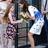 She received a post from Ella Curtis during her visit to Youthscape in England in August 2016.