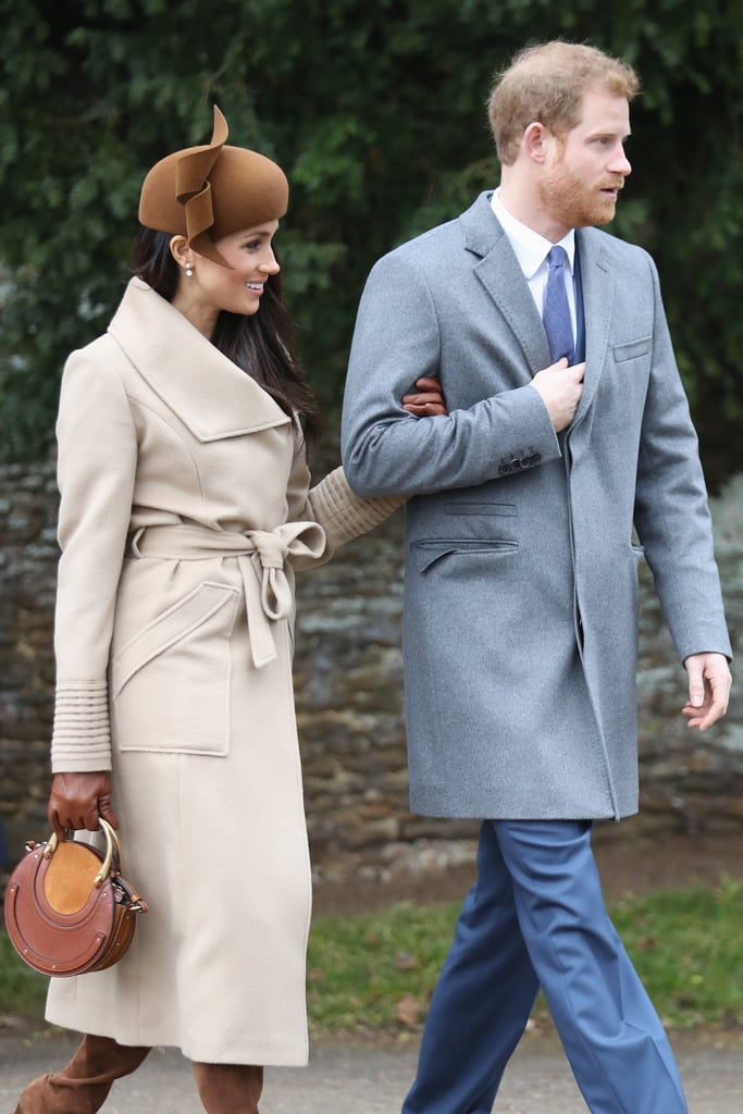 Prince Harry and Meghan Markle Attend Christmas Service