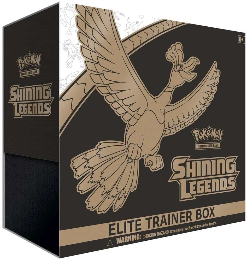 Pokémon Elite Trainer Box: Shining Legends Collectible Cards