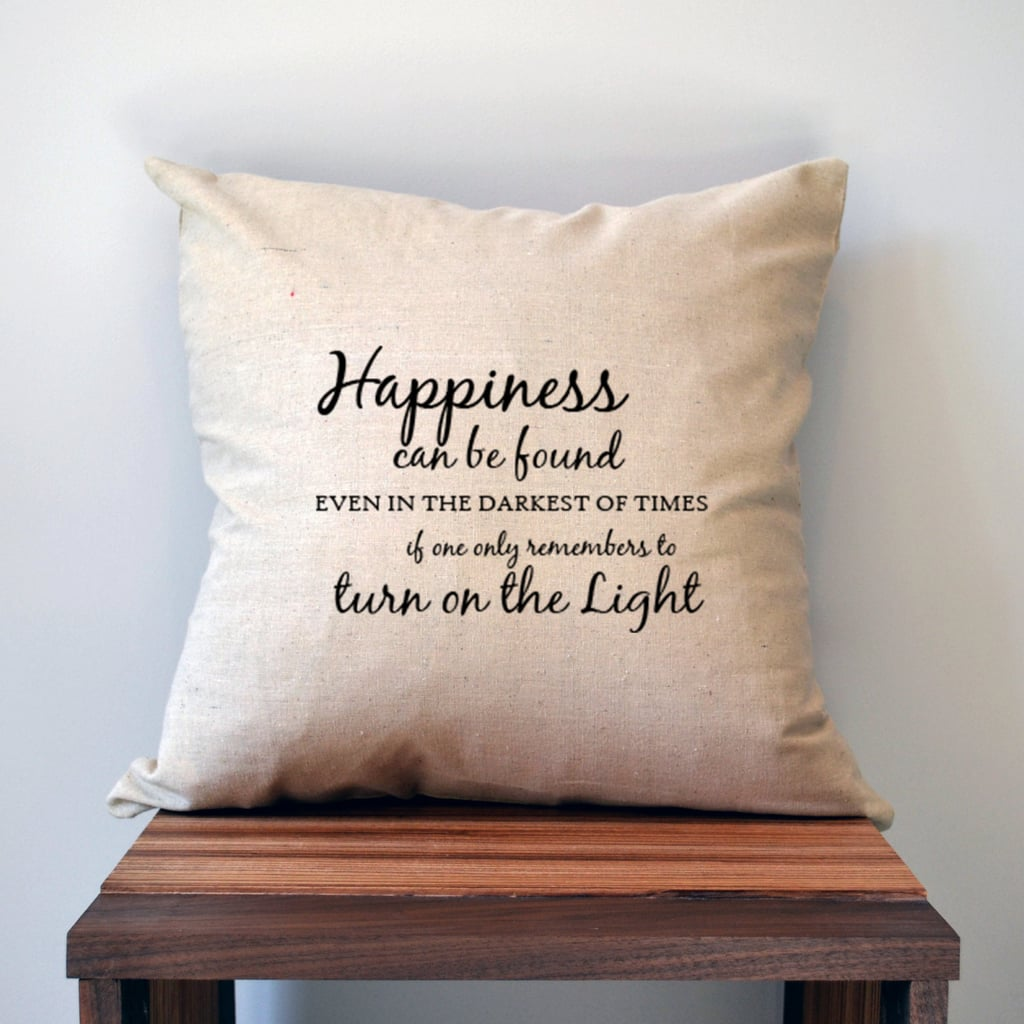 Dumbledore Quote Pillow ($17-$18)
