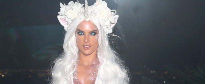 Supermodels in Halloween Costumes
