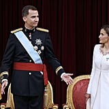 Spain's Felipe and Letizia Are Now King and Queen