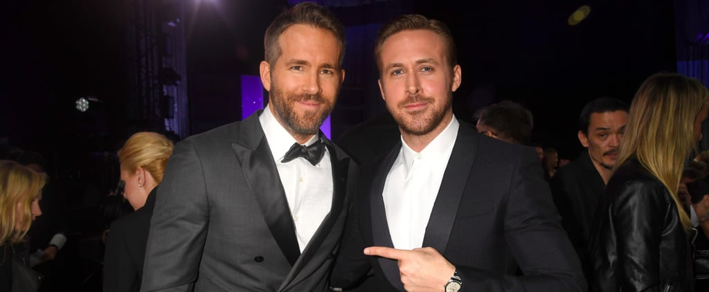 Ryan Gosling and Ryan Reynolds Fully Fangirl Over Each Other at the Critics' Choice Awards