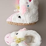 Unicorn Slouch Slippers