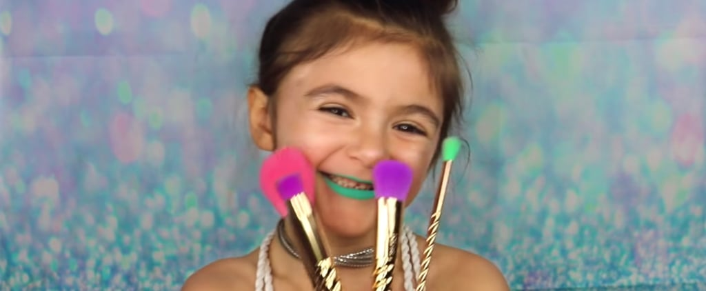 This 5-Year-Old Girl Puts Our Makeup Skills to Shame — and We're Not Even Mad About It