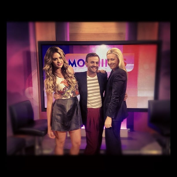 Jesinta Campbell, Josh Flynn and Paula Joye gave their fashion advice on The Morning Show. Source: Instagram user jesinta_campbell