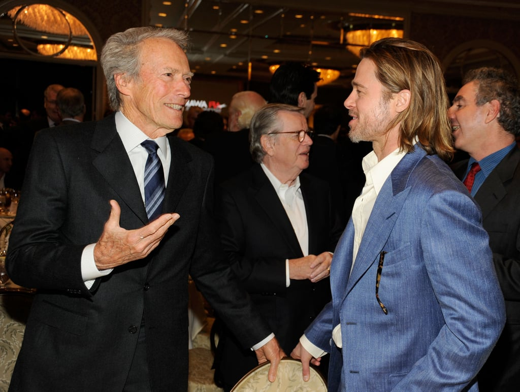 Brad, Leo, and George Bring Their Good Looks Inside the AFI Awards