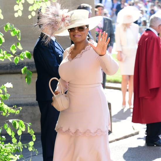 Oprah Winfrey at the Royal Wedding 2018