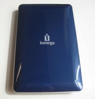 Iomega eGo Portable Hard Drive w/ Protection Suite (320GB, midnight blue)