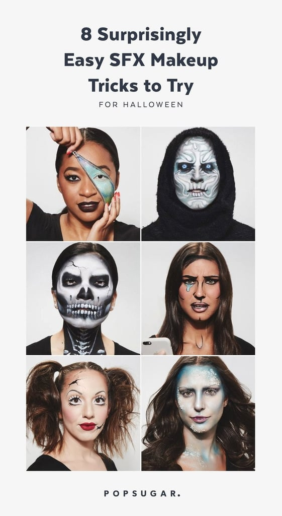Halloween Special Effects Makeup Tricks