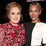 Adele and Beyoncé