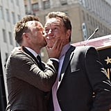And When Bryan Was Honored on the Hollywood Walk of Fame in July 2013, Aaron Gifted Him With This Kiss