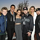 After launching an LA-inspired House of Harlow 1960 collaboration with Revolve clothing, Nicole celebrated with her family, including brother-in-laws Josh and Benji Madden, father Lionel Richie, husband Joel Madden, and Benji's wife Cameron Diaz.