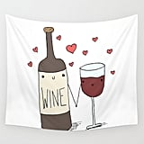 Wine Wall Tapestry ($80)