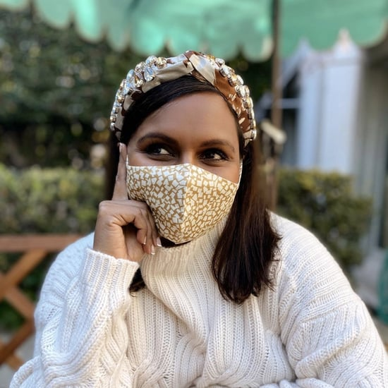 Mindy Kaling's Matching Masks and Headbands on Instagram