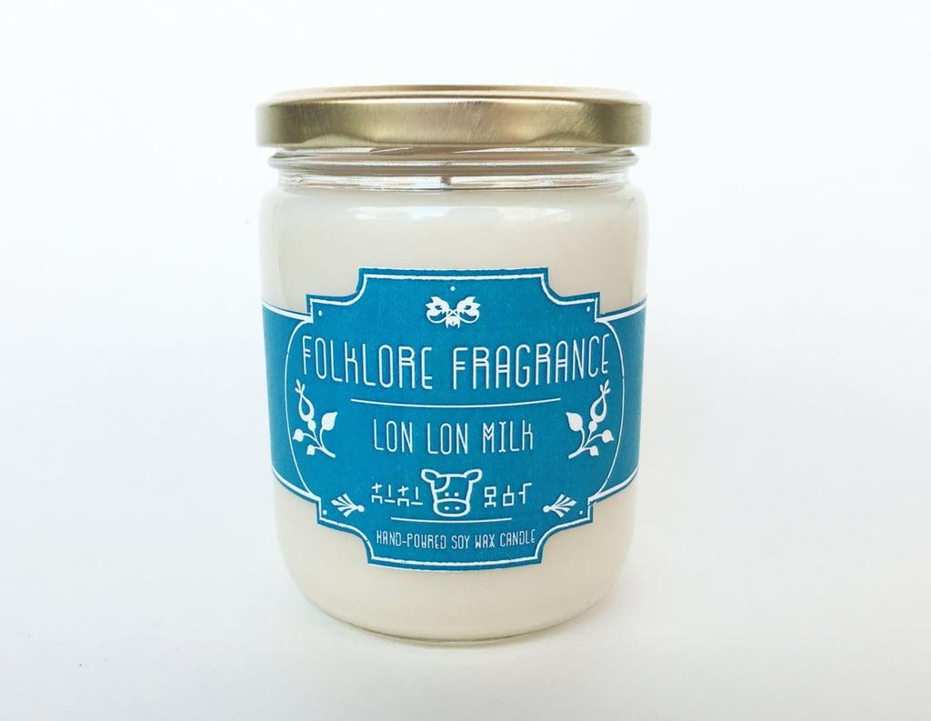 Legend of Zelda Lon Lon Milk candle ($15) with creamy vanilla notes