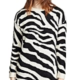 BB Dakota Zebra Sweater Dress