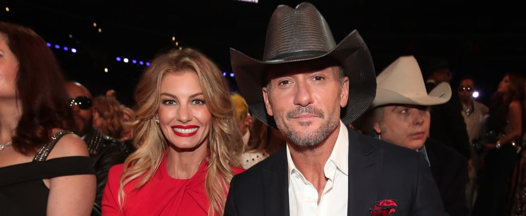 Someone Should Write a Song About How Good Faith Hill and Tim McGraw Looked at the Grammys