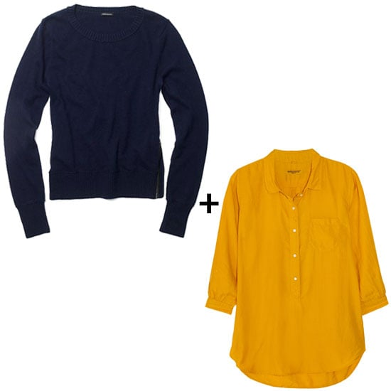 Midnight Blue + Marigold Yellow