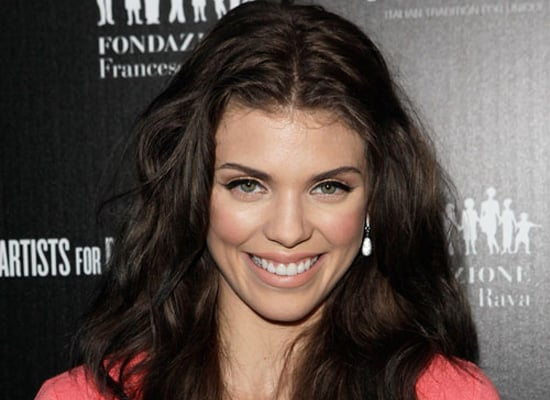 90210's AnnaLynne McCord Dyes Her Hair Dark For New Movie Role