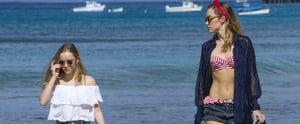 You'll Lose Your Fashion-Girl Chill When You See Suki Waterhouse's Retro Bikini