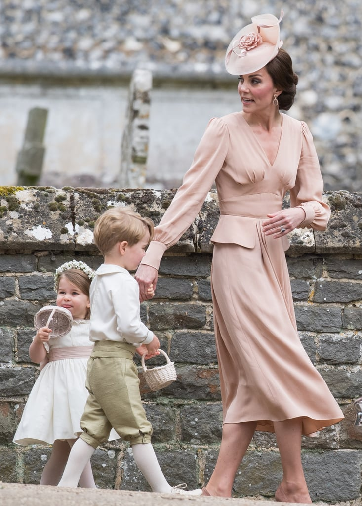 Kate Middleton Alexander McQueen Dress at Pippa's Wedding ...